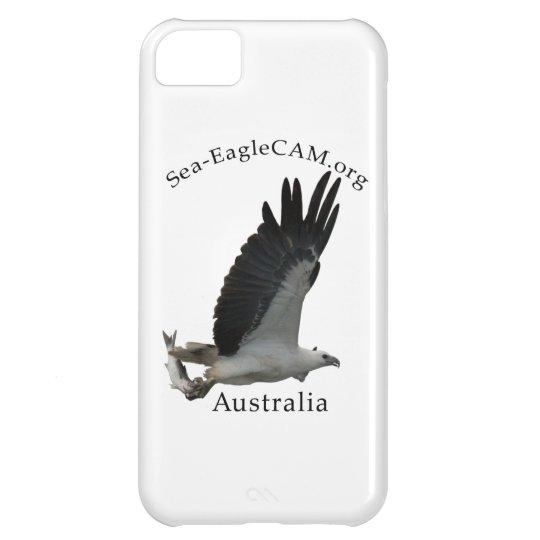 Den vuxna Hav-Örnen för fiske ringer jag fodral iPhone 5C Fodral