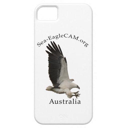Den vuxna Hav-Örnen för flyget ringer jag fodral iPhone 5 Case-Mate Cases