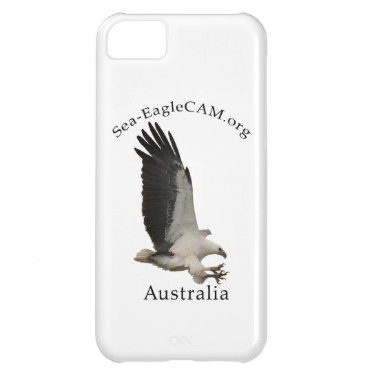 Den vuxna Hav-Örnen för flyget ringer jag fodral iPhone 5C Fodral