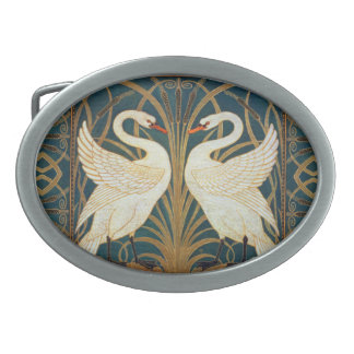 Den Walter kransvanen, rusar och Iris art nouveau