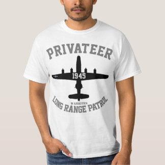"""Den Warkites PB4Y privateeren """"spänner Long Tee Shirts"""