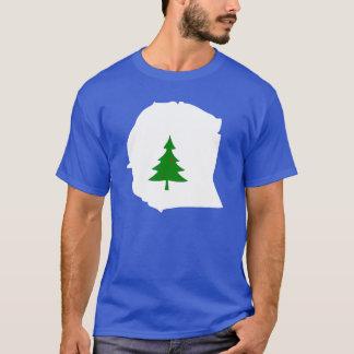 Den Warren County flaggafullt beklär skjortan T Shirt