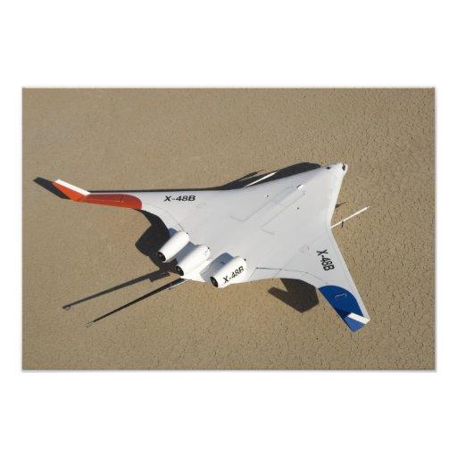 Den X-48B blandade vingen förkroppsligar obemannat Foto
