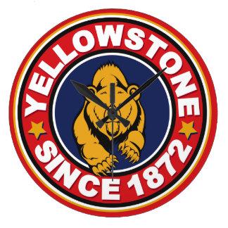 Den Yellowstone nationalparken tar tid på Stor Klocka