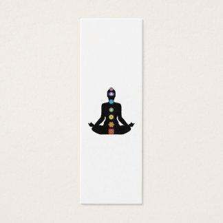 Den YogaChakras konditionen övar Litet Visitkort