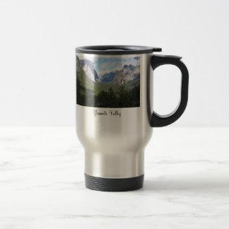 Den Yosemite dalen beskådar travel mug Resemugg