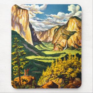 Den Yosemite nationalparken Kalifornien reser Mus Mattor