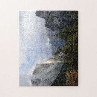 Den Yosemite tunnelen beskådar Pussel
