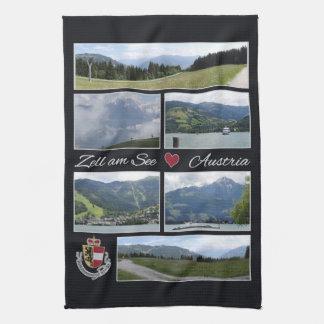 Den Zell förmiddagen ser, Österrike räcker handduk Kökshandduk