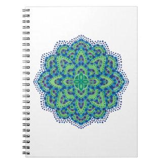 DenCoola smaragden Anteckningsbok Med Spiral