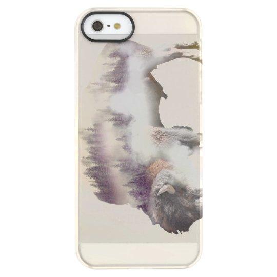dendubbla exponering-amerikanen buffel-landskap permafrost iPhone SE/5/5s skal