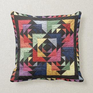 DenFärg kudder den traditionella Täcke-Looken Kudde