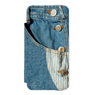 Denimblått fick- Jean