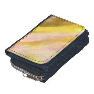 DenimDenimplånboken med myntar handväskasol sjön