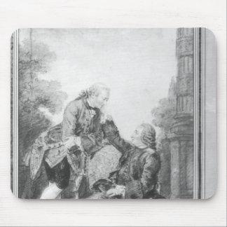 Denis Diderot och Melchior, baron de Grimm Musmatta