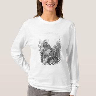 Denis Diderot och Melchior, baron de Grimm Tee Shirts