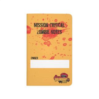 DenKritiska zombien noterar Anteckningsbok