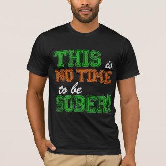 Denna är INGEN Time som är NYKTER T Shirt