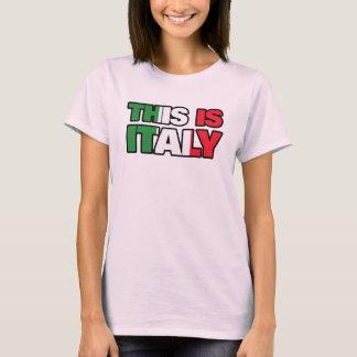 Denna är italien tröjor