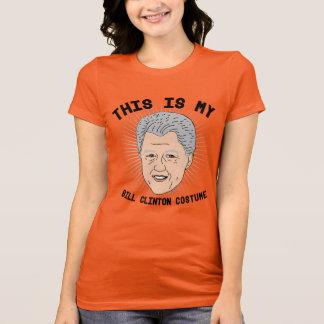 Denna är min Bill Clinton dräkt T Shirts