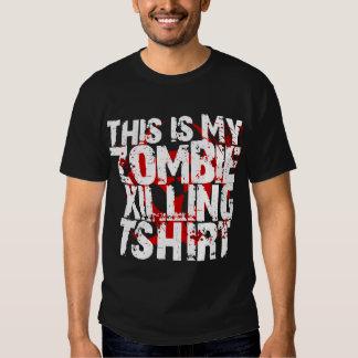 Denna är min dödande T-tröja för zombien Tshirts