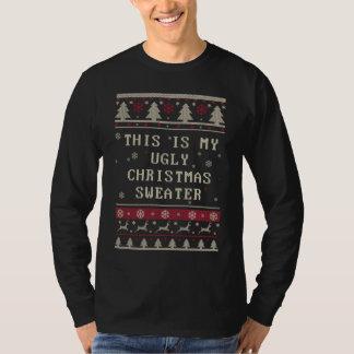 Denna är min fula jultröja t shirt