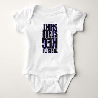 Denna är min Kegstativskjorta (babyen) Tshirts