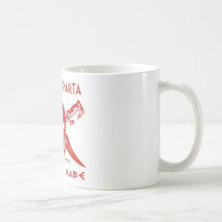Denna är röda Sparta - Molon Lave - Kaffemugg