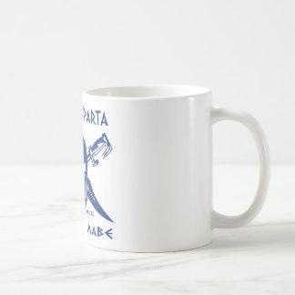 Denna är Sparta - Molon Lave - blått Kaffemugg