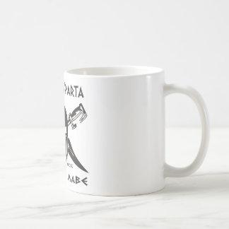 Denna är Sparta - Molon Lave - svarten Kaffemugg