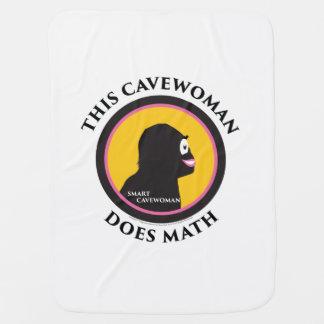 Denna babyfilten smart Cavewoman gör Math Bebisfilt