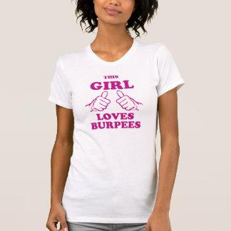 Denna flicka älskar Burpees T Shirts