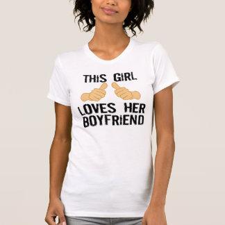 Denna flicka älskar henne pojkvännen tröja
