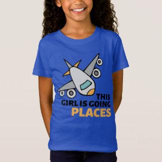Denna flicka är gående ställen t shirts