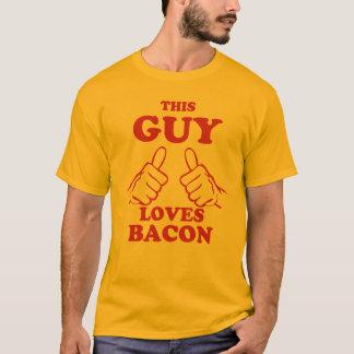 Denna grabb älskar bacon tee shirt