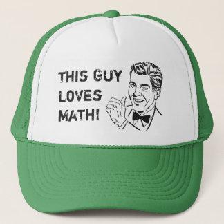Denna grabb älskar för humorMath för Math den Truckerkeps