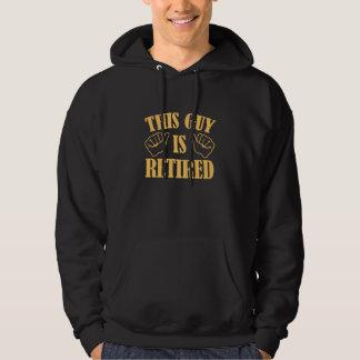 Denna grabb avgås sweatshirt