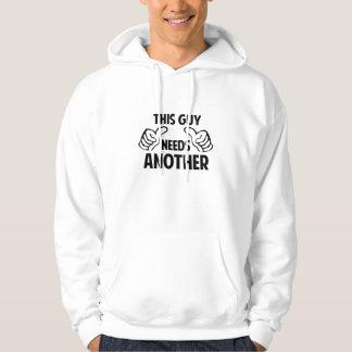 Denna grabb behöver Another Sweatshirt Med Luva