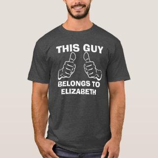 Denna grabb hör hemma för att skriva in känd t-shirt