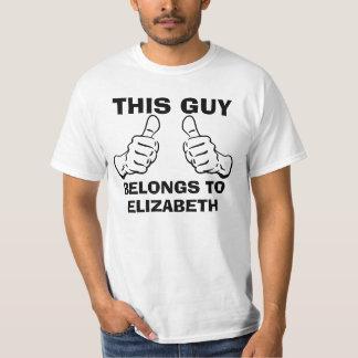 Denna grabb hör hemma för att skriva in namn för tröjor