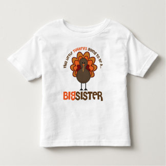 Denna lite Turkiet som går att vara en storasyster T-shirts