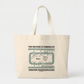 Denna maskin som drivas av Oxidative Phosphorylati Tote Bag