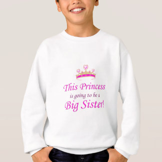 Denna Princess går lite att vara en storasyster! T Shirts