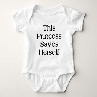 Denna Princess Sparande T-shirt