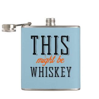 Denna styrka är whiskey fickplunta