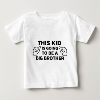 Denna unge går att vara en storebror t shirts