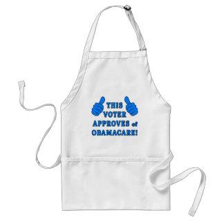DENNA VÄLJARE godkänner av Obamacare Förkläde