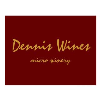 Dennis viner vykort