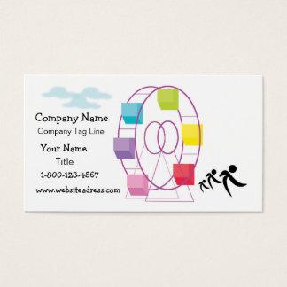 Denyer planlägger visitkortar visitkort