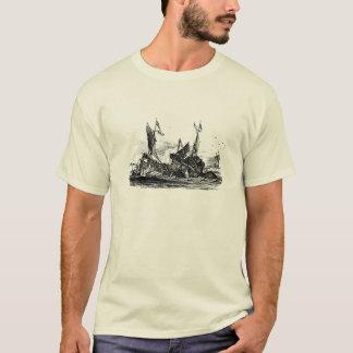 Denys de Montfort kolossala Poulpe/tioarmad T-shirt
